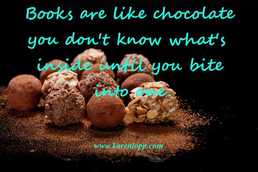 Booksarelikechocolatekarenlopp
